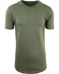 Van de Katoenen van Mens de BasisKleding van de T-shirt van de Hals Bemanning van Hipster