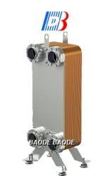 蒸気加熱用の高効率溶接プレート熱交換器