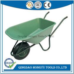 판매 (WB6424S)를 위한 플라스틱 쟁반 건축 기능 외바퀴 손수레