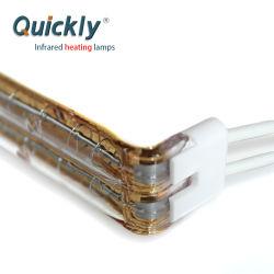 Lámpara de infrarrojos en forma de L Calentador de infrarrojos Lámpara para máquina de Stringer