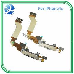安くiPhone 4Sのためのドックの屈曲のケーブルコネクタのポート充満のために