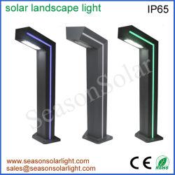 Neue Produkt-im Freienlandschaftsvorrichtungs-Solarschiffspoller-Licht 2020 mit grüner LED-Streifen-Beleuchtung