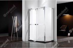 Personalizzare il più in ritardo progettato facendo scorrere la stanza da bagno rettangolare di vetro di lusso della stanza da bagno dell'hotel