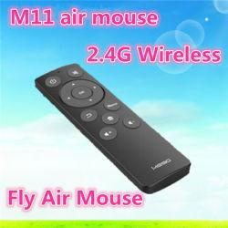 Meilleure vente de l'air Super M11 de la souris clavier et souris sans fil 2.4G avec du chocolat de clavier pour TV Box