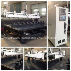 5 ماكينة المحور CNC، ماكينة نقل خماسي المحاور، أعمدة دوران متعددة