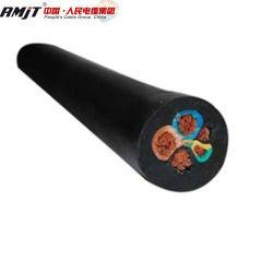 Wärme, Öl und flammhemmendes PVC/Rubber Schweißens-Kabel (HOFR) 95mm2