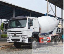 HOWO 9cbm mélangeur en béton de ciment camion de transport du chariot