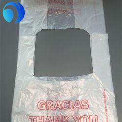 생분해성 PE/HDPE/LDPE 베스트는 내성형 플라스틱 쇼핑 티셔츠 패키지 핸드백