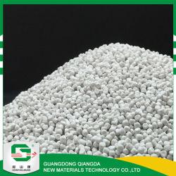 Ultra blanca de carbonato de calcio pesados gránulos de CaCO3 para plástico