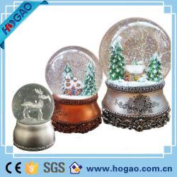 Decoração de Natal Globo de neve Musical