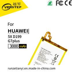 Capacidade original de bateria de substituição para a Huawei 5X/D199/G7plus396481Hb ebc 3.8V 3000mAh