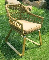 高温抵抗の藤のレストランの家具の屋外のバースツールのホーム椅子(WS-15596)