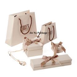 ممتازة دقيقة صلبة ورق مقوّى ورقة مجوهرات هبة يعبّئ صندوق مجموعة