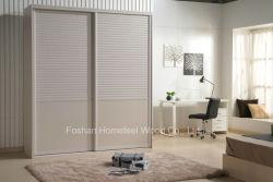 Personalizar el dormitorio de madera armario de puerta deslizante (HF-IK210B)
