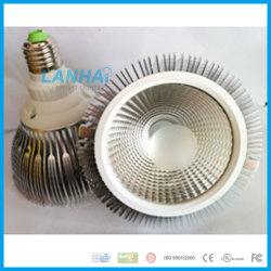 Алюминиевые початков PAR30 лампы наружного кольца подшипника 12Вт E27 Светодиодный прожектор