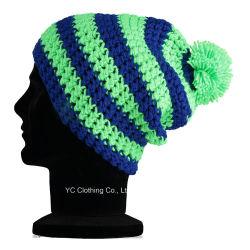 100 % de la qualité Super Doux fil acrylique hiver Chapeau tricoté