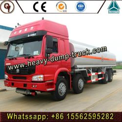 Sinotruk HOWO 40litres 8X4 DG/Rhd camion-citerne de transport d'huile de véhicule de livraison de carburant