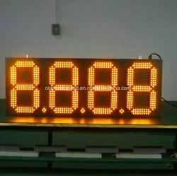 Pequeno Relógio LED/ digital de sinais de preços de combustível/ placa do display digital