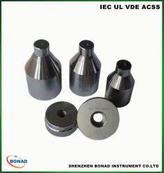 IEC60061 E14 a tampa da lâmpada de medidores de teste com dureza do aço