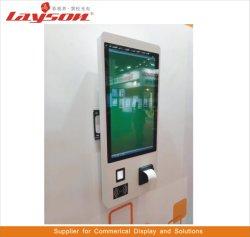 OEM 27-duim LCD van het Scherm van de Aanraking Touchscreen van de Betaling van de Zelfbediening van de Informatie van de Vloer van de Kiosk van de Speler van de Vertoning van de Reclame van het Comité van de Monitor Interactieve Bevindende Kiosk