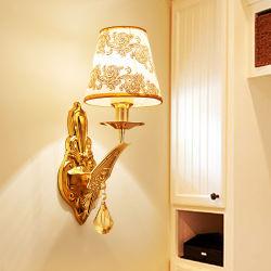 Pantalla de Vidrio contemporáneo de la luz de LED de iluminación de ahorro de energía en el interior de la pared de hierro Las luces LED para casa habitación de hotel