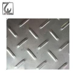 201 304 316 de tôle en acier à damier en acier inoxydable