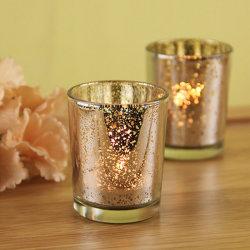 Commerce de gros cadeau chaud parfumé Bougie en verre bougie Jar Cup chandelier bougeoir