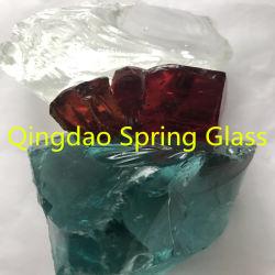 Les roches de verre d'aménagement paysager décoratif de Qingdao printemps