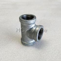 ASTM A-197 150фунтов оцинкованных эластичной утюг фитинги трубы хомутами тройник