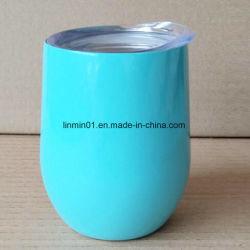 Doppelte Wände IsoliervakuumEdelstahl-Wein-Glas mit Drucken