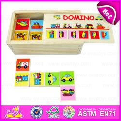 2015 neu und Popular Wooden Toy Domino für Kids, Education Domino Puzzle Game Set, Christmas Gift Wooden Domino Puzzle Toy W15A003