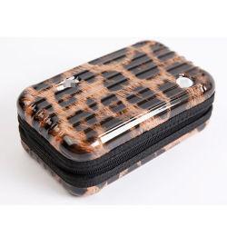 ABS Lepard+PC cosmétique sac de lavage de cas avec les bagages style Case
