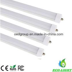 Conduit de lumière du tube de 8 ft Epistar haute Lumens SMD LED 45W 4500lm Tube de 8 ft