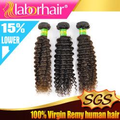 Выдвижение Lbh 054 человеческих волос девственницы естественной Kinky скручиваемости верхнего качества 100% бразильское