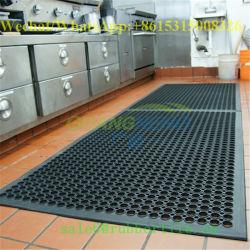Op maat gemaakt waterbestendig Rubber Commercieel bedrukte Keukenmatten