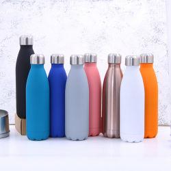 Paredes duplas Inox garrafa de água balão térmico Inox vaso de gelo vaso de balão com isolamento