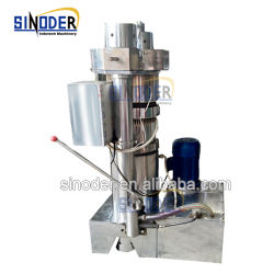 Appuyez sur la noix de coco Sinoder froid de l'huile hydraulique de l'extracteur de semences de l'huile de noix de coco Machinerie de traitement
