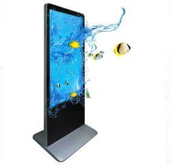 55 인치 접촉 스크린 광고 전시, 광고 선수, 디지털 Signage 간이 건축물, LCD 모니터, 대화식 통신망 각자 서비스 단말기