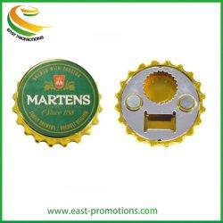 Пользовательский магнитный рекламных бутылок пива формы с сошника для подарков