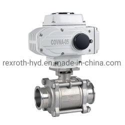 Dn50 2дюйм/2way 3штук 1000 - Wog 12V/DC 316-Stainless-Steel электрическим приводом шаровой клапан
