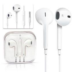 Ohrhörer Earphone 3,5mm Universal-Kopfhörer mit Fernbedienung und Mikrofon für Apple iPhone Kopfhörer Geräuschreduzierung Kopfhörer Freisprecheinrichtung