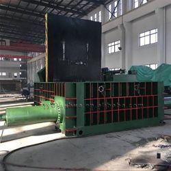 Гидравлический горизонтальный металлолома пресс для алюминиевого лома стали медные нажмите кнопку рециркуляции