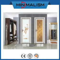 Il materiale da costruzione non arrugginisce portello di alluminio della stanza da bagno per la prova dell'acqua
