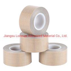 Fibra di vetro rivestita del nastro adesivo del prodotto della vetroresina di PTFE