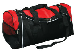 カスタムポリエステルまたはキャンバスのトロリー昇進のDuffelの荷物の体操のスポーツのDuffle旅行袋