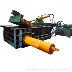 Hydraulisches horizontales überschüssiges Eisen/Aluminium/kupferne Altmetall-Ballenpressen
