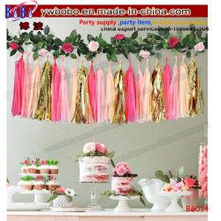 Birthday Party faveur Décoration de Noël de mariage Partie Une fleur artificielle de gros d'alimentation (B6014)