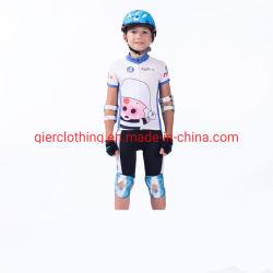 믿을 수 있는 질을%s 가진 고정되는 자전거 옷 자전거 저어지를 순환하는 Breathable 주문 운동복 아이 자전거 Clotheschildren Cyclingwear t-셔츠 및 간결