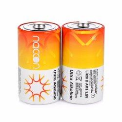Direto da fábrica Naccon D Pilhas alcalinas LR20 Lanterna 1,5V Célula para suporte de luz LED personalizados OEM