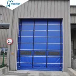 Congelador rápido de empilhamento de corrediça da porta de PVC
